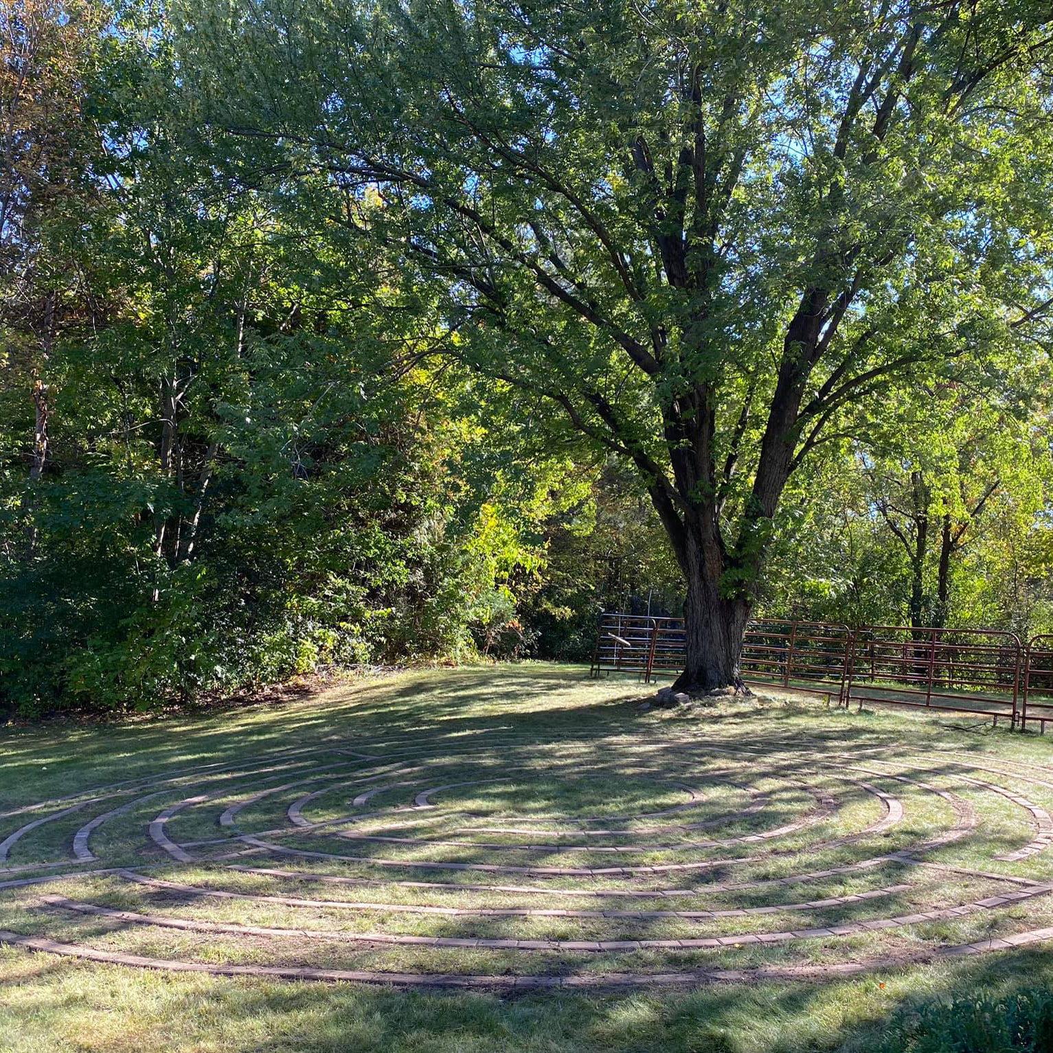 Labyrinth at Innsfree Farm